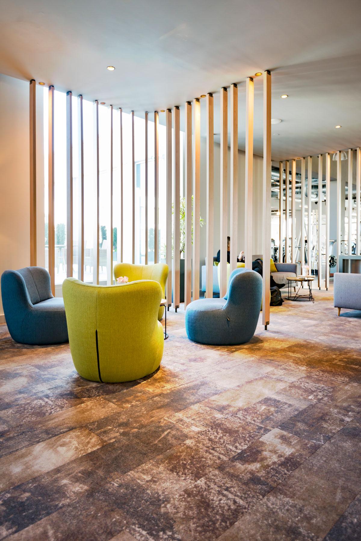 Neugesatltung Clays Fittness Club Berlin © Büro Thomas Müller, Architektur, Innenarchitektur, Messebau