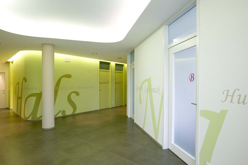 HNO Praxis Berlin © Büro Thomas Müller, Architektur, Innenarchitektur, Messebau